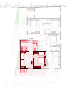 Apartmani LUKA 2.1 10039, Živogošće-Porat, , Splitsko-dalmatinska županija