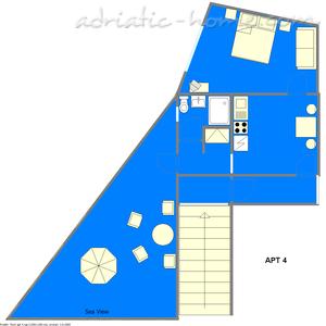 Apartmani IVOP IV 11314, Živogošće-Porat, , Splitsko-dalmatinska županija