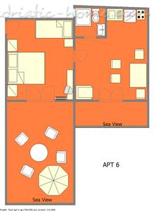 Apartmaji IVOP VI 11316, Živogošće-Porat, , Regija Split-Dalmacija