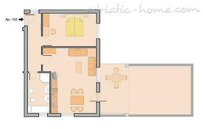 Appartements MALLER 102 11780, Rovinj, , Région Istrie