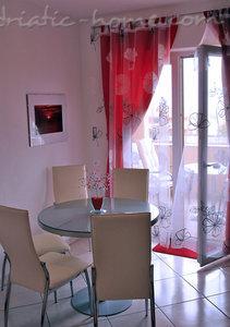 Апартаменты JAKIĆ 3+2b 12495, Tučepi, , Сплит-Далмация