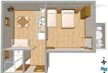 Apartamentos VILLA RINO IV **** Promajna 16131, Baška Voda, , Região de Split-Dalmatia