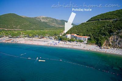 Studioleilighet KOVAČEVIĆ BLAŽO II 23155, Budva, , Priobalni dio (Crna Gora)