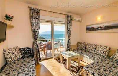 Studio apartman br. 3 Sijerkovic Kumbor 24962, Kumbor (Herceg Novi), Herceg Novi, Priobalni dio (Crna Gora)