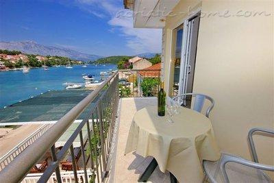 Apartamente FAMILY 25501, Lumbarda, Korčula, Rajoni i Dubrovnikut/Neretvës