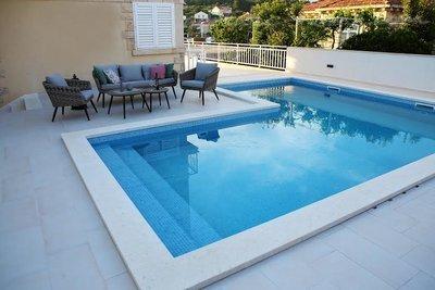 Appartements FAMILY 25501, Lumbarda, Korčula, Région de Dubrovnik