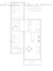 Apartmani Mikulic-Bungevila 26423, Makarska, , Splitsko-dalmatinska županija