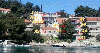 Aпартамент VILA IVO - A10 26967, Basina, Hvar, Сплит-Далмация