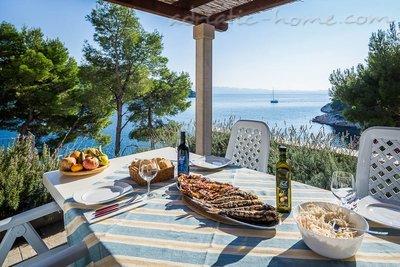 Appartements Bili Osibova Milna - Apartment No. 4 27123, Milna, Brač, Région de Split-Dalmatie