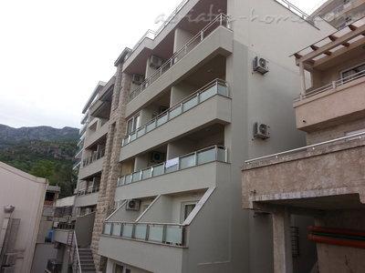 Апартаменты AURA 4 27488, Rafailovići, , Priobalni dio (Crna Gora)