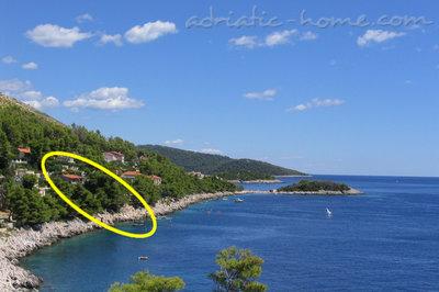 Leiligheter DIANA i MARTA 28942, Prižba, Korčula, Dubrovnik-regionen