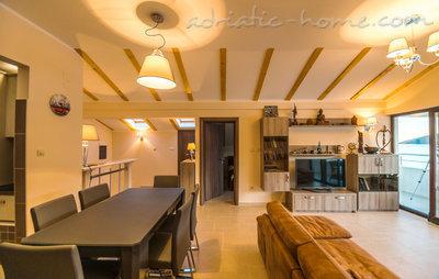 Апартаменты Lux apartman Twins 34227, Igalo (Herceg Novi), Herceg Novi, Priobalni dio (Crna Gora)