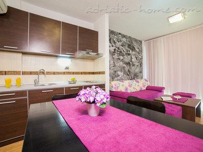 Apartmaji RAYMOND-Apartman sa jednom spavacom sobom i balkonom koji se deli sa drugim apartmanom 35683, Pržno, , Priobalni dio (Crna Gora)
