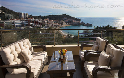 Leiligheter Luxurious 2bd AP. w/amazing sea view walk to beach 35684, Pržno, , Priobalni dio (Crna Gora)