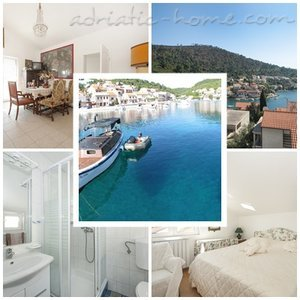 Appartementen VILLA LAGARRELAX 0 Great for couple or friends 5654, Brna, Korčula, Regio Dubrovnik-Neretva