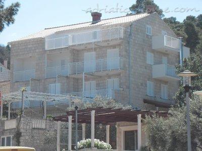 Apartmány SLAVICA STRAŽIČIĆ II 6676, Pomena, Mljet, Region Dubrovník