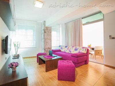 Leiligheter Private 4 STAR  ap. w/ balcony, free wi-fi, pkg 7961, Pržno, , Priobalni dio (Crna Gora)