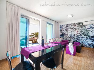 Leiligheter Family & Friends- SEA view ap. walk to beach  7962, Pržno, , Priobalni dio (Crna Gora)