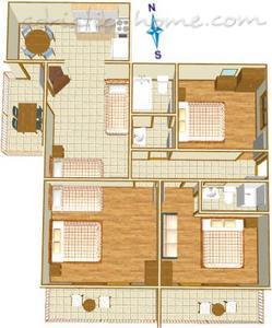 Apartmani IRENA A8+2 8211, Tučepi, , Splitsko-dalmatinska županija