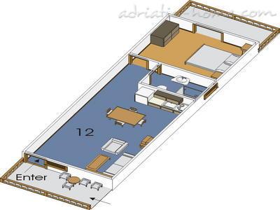 Apartmány NJIVICE II 8623, Njivice, Krk, Prímorsko-horský kraj