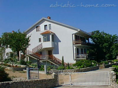 Комнаты NJIVICE VI 8627, Njivice, Krk, Регион Кварнер