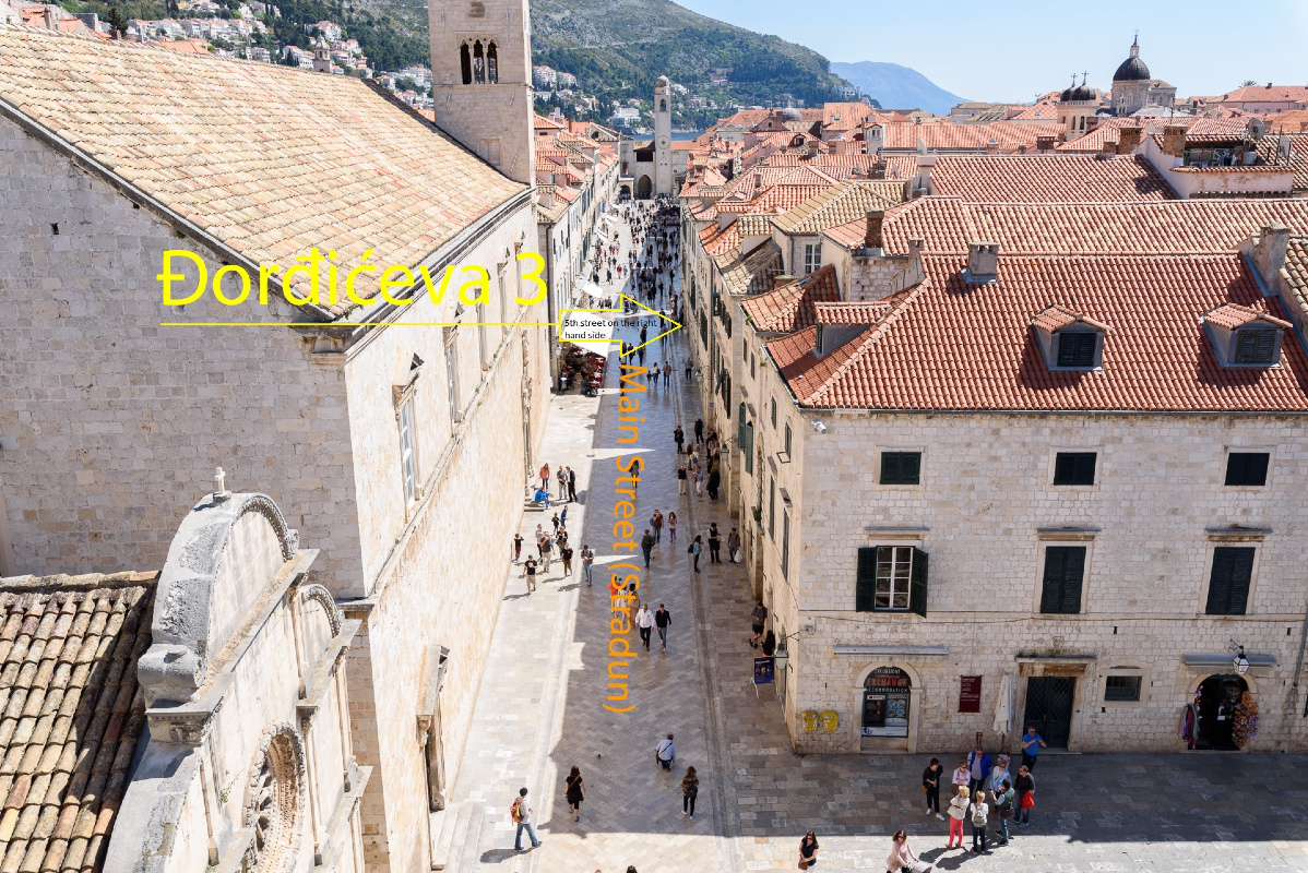 Apartment Diana 3 apartment Old town Dubrovnik Center (FLAT AREA) 33705, Old Town, Dubrovnik, Dubrovnik Region